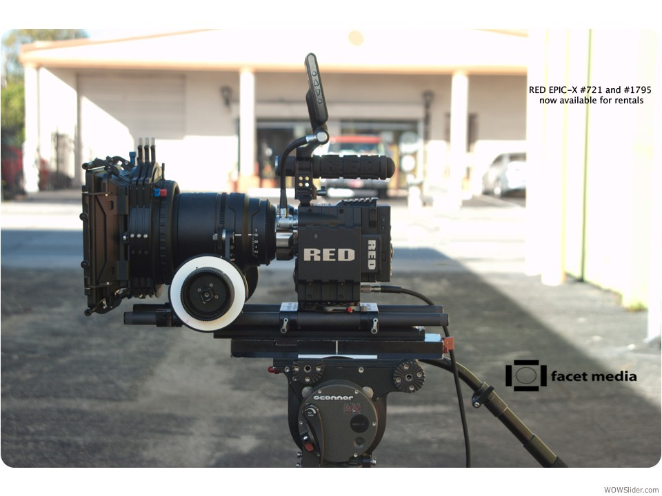 RED EPIC-X camera