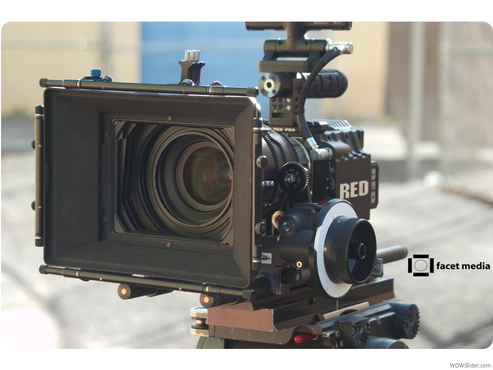 RED EPIC 5K camera